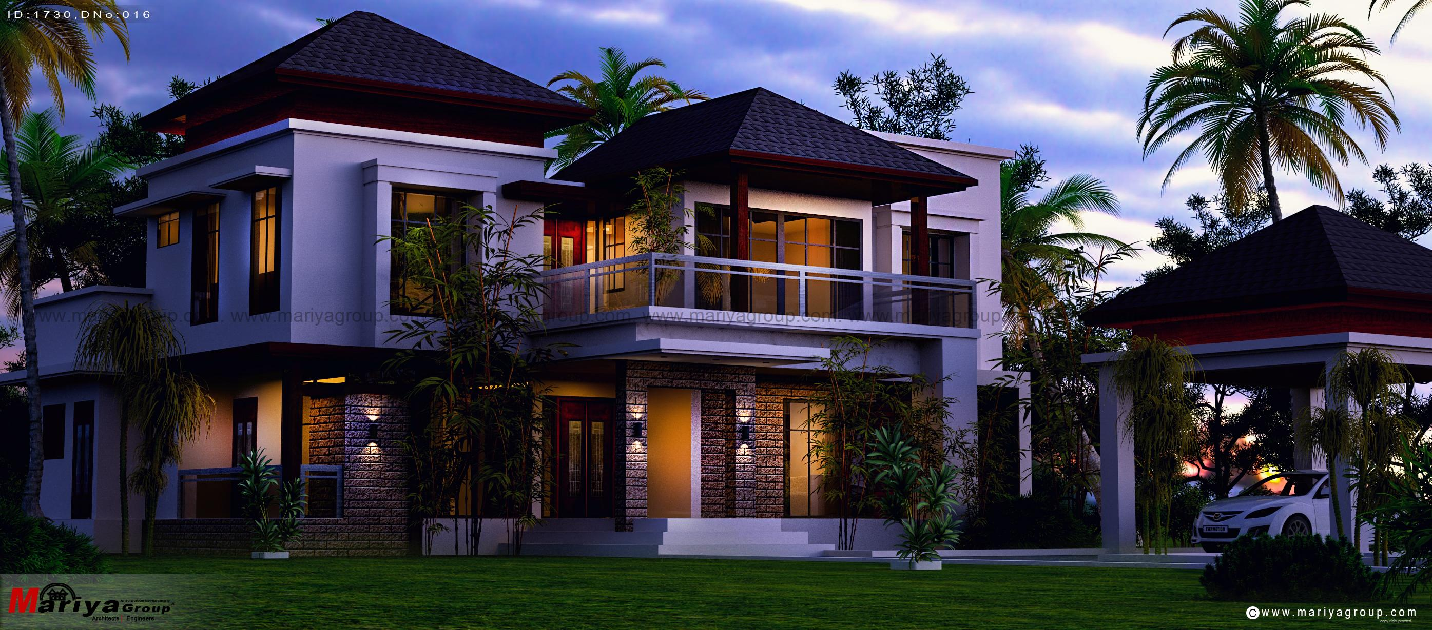 Architects in bangalore best architects in bangalore for Contemporary house in kerala