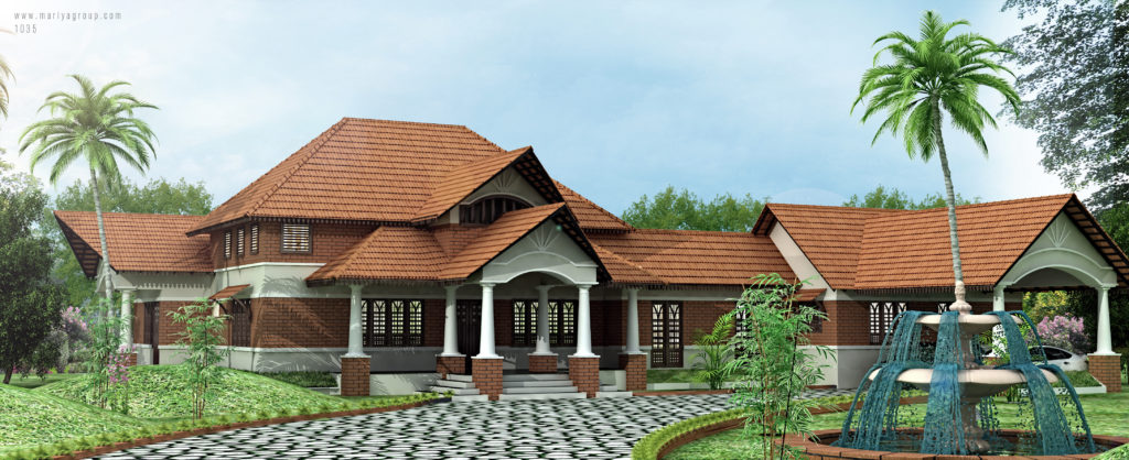 Traditional kerala houses traditional houses in kerala for Kerala style homes plans free
